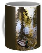 Green Head Mallard Duck Coffee Mug