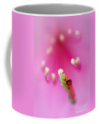 Green Jelly On A Rhododendron Coffee Mug