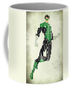Green Lantern Coffee Mug by Ayse Deniz