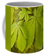 Green Leaves Series Coffee Mug by Heiko Koehrer-Wagner