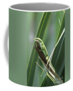 Green Lizard Coffee Mug