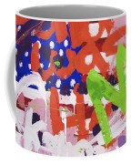 Green M Coffee Mug