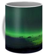 Green Northern Lights Arc Coffee Mug