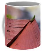 Green On Red Coffee Mug