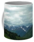 Green Pastures And Mountain Views Coffee Mug