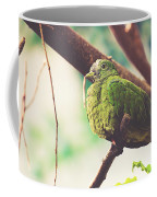 Green Pigeon Coffee Mug