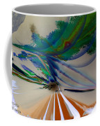 Green Planets Coffee Mug