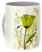 Green Poppy 003 Coffee Mug