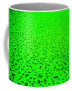 Green Representational Abstract Coffee Mug