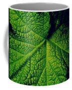 Green Ribbons Of Life Coffee Mug