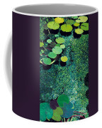 Green Shimmering Pond Coffee Mug