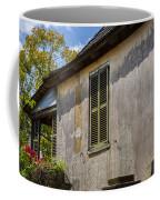 Green Shutters Stucco Walls St Augustine Coffee Mug