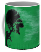 Green Sky Sunset Coffee Mug