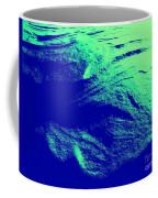 Green Snow Dune Abstract Coffee Mug