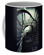 Green Spiral Staircase Coffee Mug