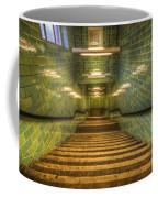 Green Stairs Coffee Mug