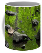 Green Stream Coffee Mug