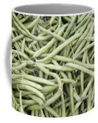 Green String Beans Display Coffee Mug