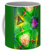 Green Thing 2 Abstract Coffee Mug