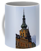 Green Tower Coffee Mug