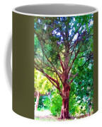 Green Tree Coffee Mug