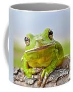 Green Treefrog Coffee Mug
