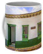 Green Trim Coffee Mug