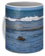 Green Turtle Surf Coffee Mug