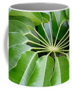 Green Umbrella Coffee Mug