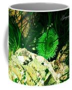 Green Urchin Coffee Mug