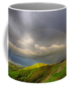 Green Valley Rainbow Coffee Mug by Beth Sargent