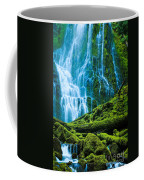 Green Waterfall Coffee Mug