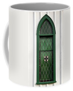 Green Window Coffee Mug