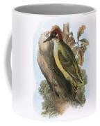 Green Woodpecker Coffee Mug