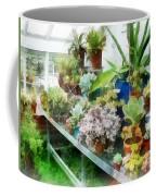 Greenhouse With Cactus Coffee Mug