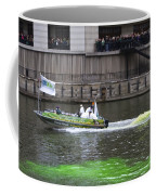 Greening The Chicago River For St Patrick's Day Coffee Mug