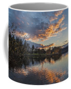 Greenlake Autumn Sunset Coffee Mug