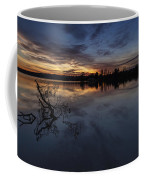 Greenlake Sunset With A Fallen Tree Coffee Mug