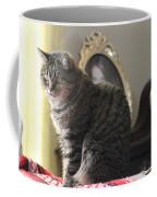 Greeting Card Cat Coffee Mug
