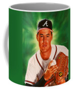 Greg Maddux Coffee Mug by Dick Bobnick