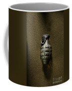 Grenade Coffee Mug by Margie Hurwich