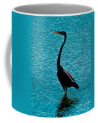 Grey And Blue Coffee Mug