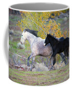 Grey And White Coffee Mug