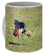 Grey Crowned Crane. The National Bird Of Uganda Coffee Mug