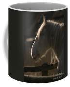 Grey Shire Horse Coffee Mug