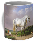 Grey Stallion Coffee Mug