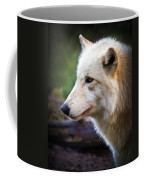 Grey Wolf Painting Coffee Mug