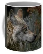 Grey Wolf Profile 3 Coffee Mug