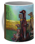 Greyhound Figurines Coffee Mug