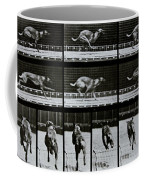 Greyhound Running Coffee Mug